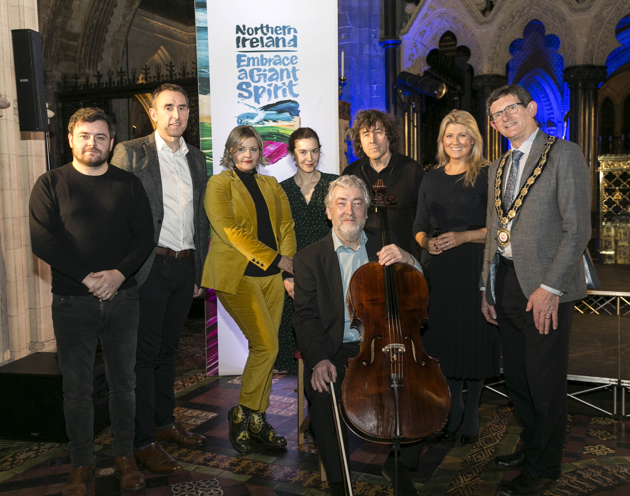 Performers from Stage & Screen Unite to Highlight Seamus Heaney HomePlace